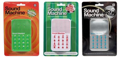 in sound machine